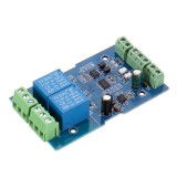 3pcs Dual Modbus-Rtu 2-way Relay Module Switch Input and Output RS485/TTL Communication Controller