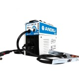 ANDELI MIG-250E AC220V EU Plug Digital Household Single Phase Mini MIG Welding Machine Welding without Gas Flux Core Wire Inverter Welder