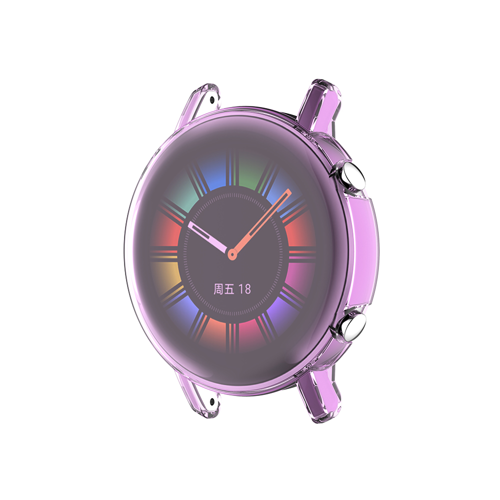 Bakeey Full Screen Cover Multi-color Transparent Watch Screen Protector Watch Cover for Huawei Watch GT2 42mm Smart Watch