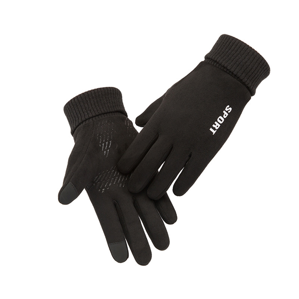 Men Women Winter Gloves Warm Touch Screen Non-Slip Cycling Driving Gloves