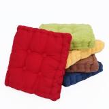 50x50cm Square Corduroy Chair Pad Seat Cushion Patio Home Office Seat Sofa Tatami