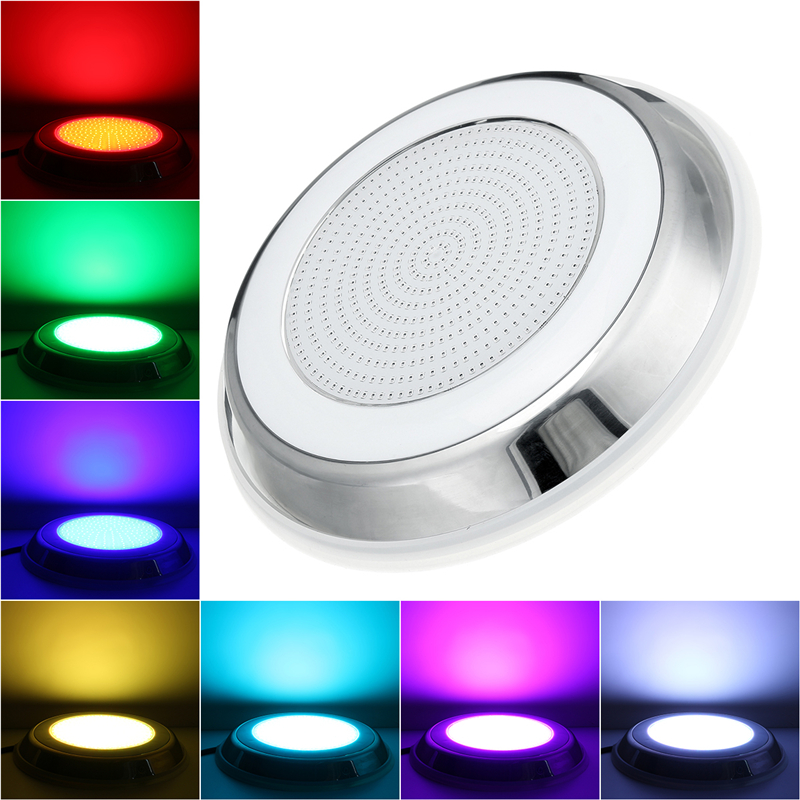 531LED RGB Underwater Swimming Pool Light IP68 Remote Control Fountain Light