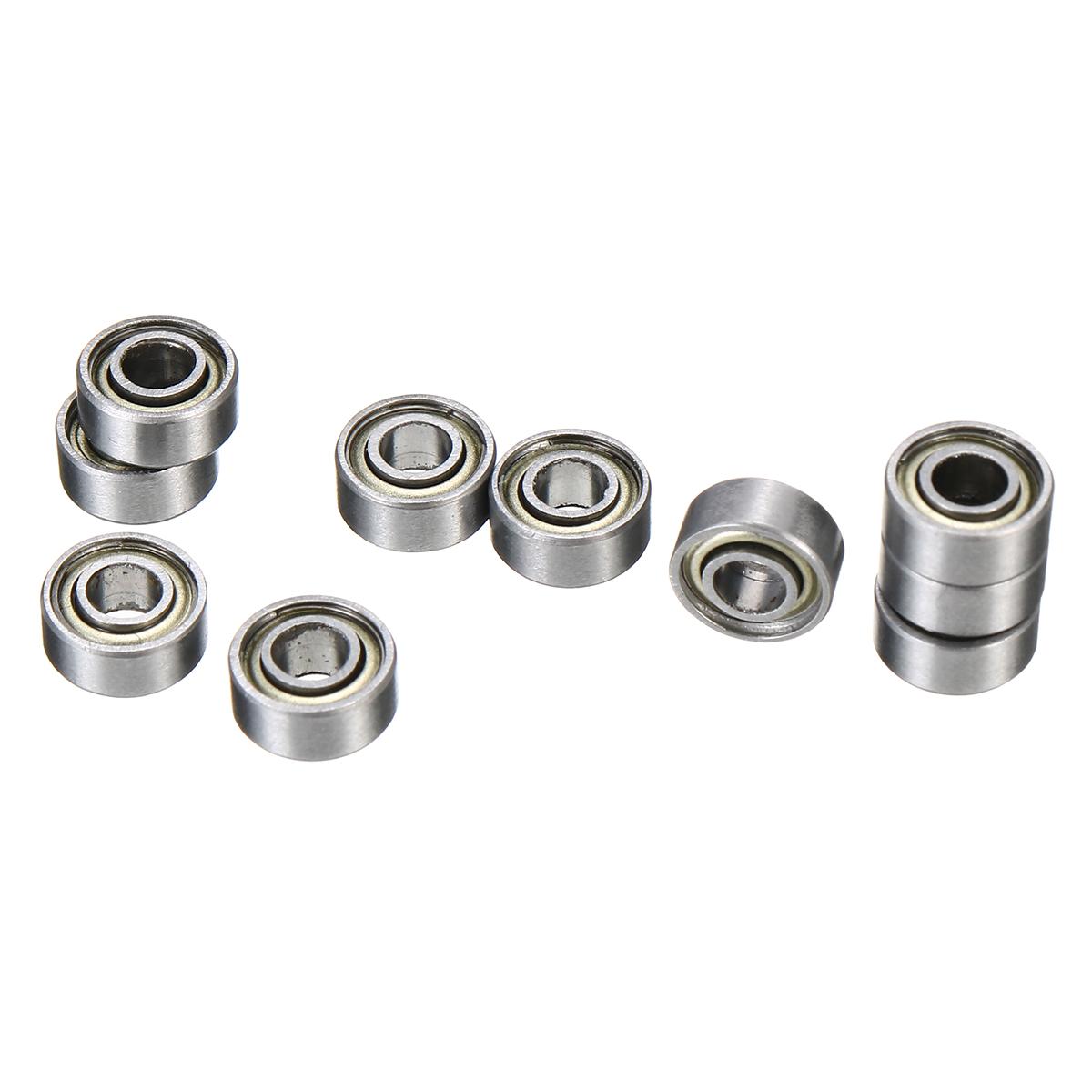 10pcs 683ZZ Miniature Bearings Deep Groove Ball Bearings