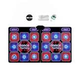 Wireless Dancing Mat Pad Blanket Computer TV Slimming Blanket With Two Handle a Colored Lights Button Glow Version