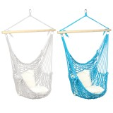Hammock Chair Swing Hanging Rope Seat Net Chair Tree Outdoor Patio Indoor 200kg