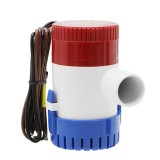 12V/24V Electric Pump 500GPH Marine Bilge Pump Submersible Boat Water Pump
