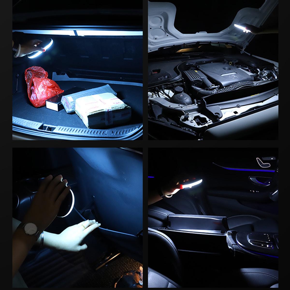 Car Roof Interior Led Reading Light Magnet Ceiling Lamp Usb Convertible Light Alexnld Com