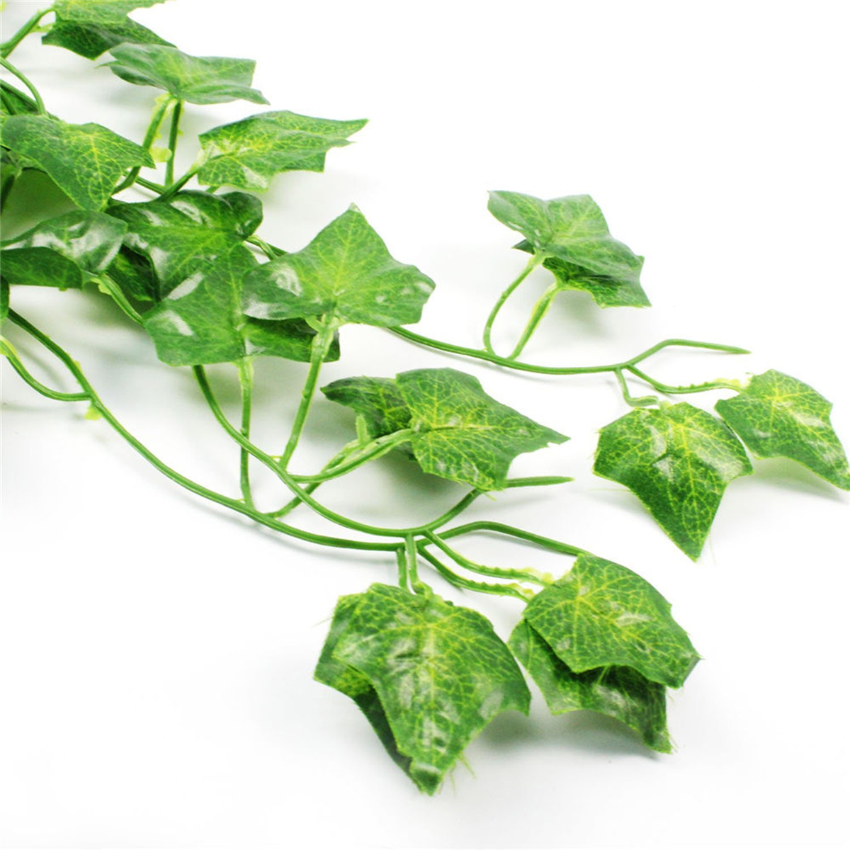 12pcs Artificial Greenery Vine Ivy Leaves Garland Hanging Wedding Party Garden Decorations