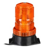 12V-24V 30 LED 5730 Rotating Flashing Amber Beacon Flexible Tractor Warning Light For ATV Boat Truck Agricultural Machiney Vehicle