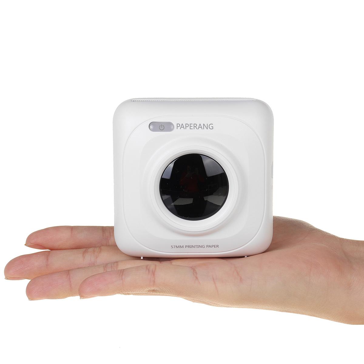 200dpi Portable Pocket Instant Photo Printer Bluetooth Wireless Thermal Printer