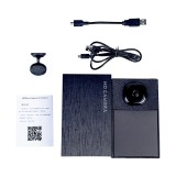 MC56 Wifi IP Camera Recorders Wireless WiFi HD 1080P Network Monitor Security Night Vision Camer Remote Monitor Phone App sq IP Camera