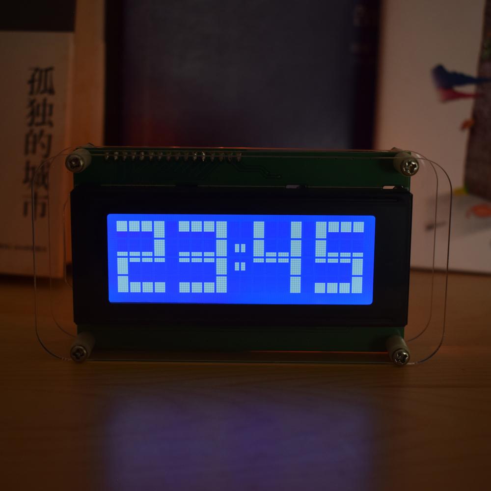 Geekcreit Multifunctional LCD Music Spectrum Large Font DS3231 Clock DIY Kit