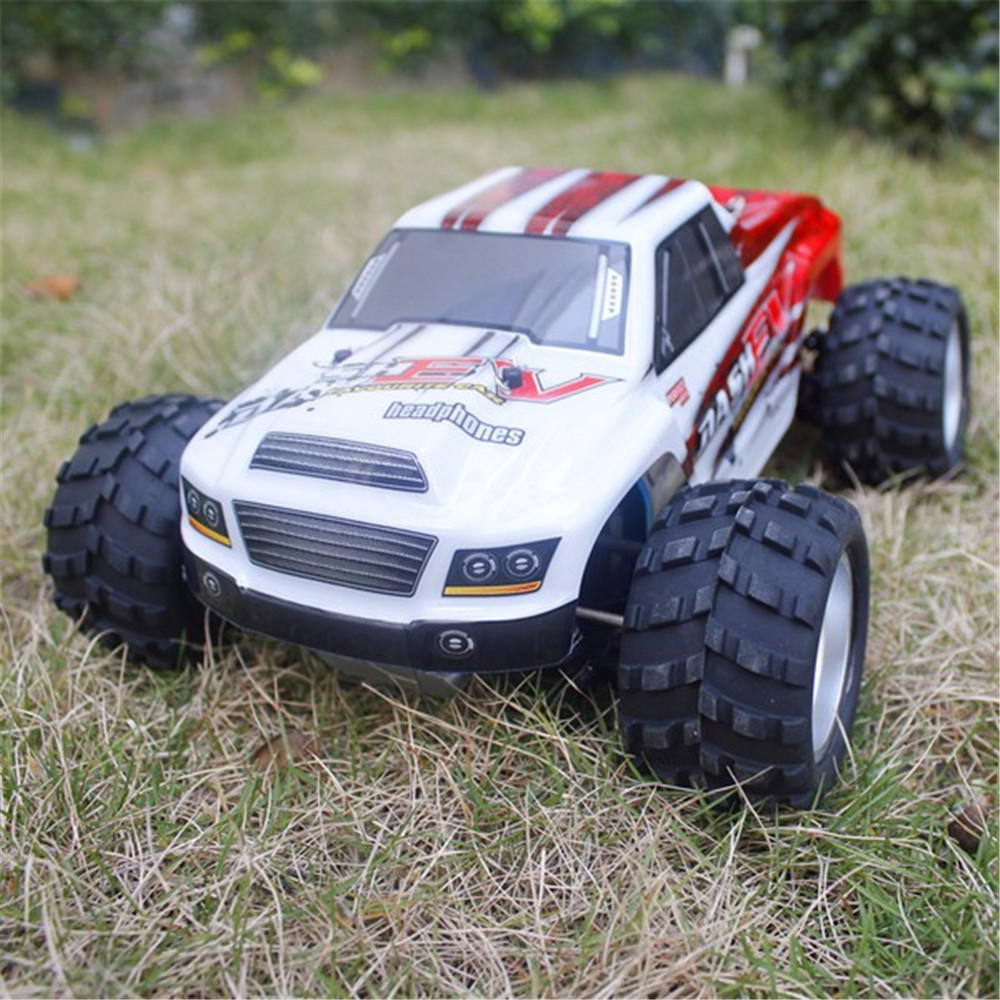 WLtoys A979B with Two Batteries 1/18 2.4G 4WD Monster Truck RC Car 70km/h RTR Model