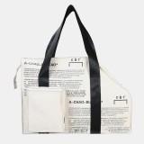 Men Women Fashion Cool Tooling Bag Shoulder Bag Handbag