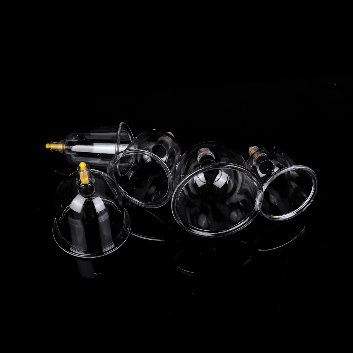 Cupping Therapy Scar Tissue: 24 Cup Vacuum Cupping Set Massage Acupuncture Kit Suction