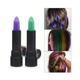 6 Colors Hair Dyeing Stick Non-toxic Hair Salon DIY Hair Coloring