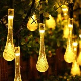 30 LEDs String Light Garden Outdoor Solar Powered Patio Yard Landscape Lamp Waterproof