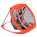 "70×81.3x56cm / 27.5""x32""x22"" Golf Net Training Aid Hitting Practice Lawn Driving Net Golf Training Net"