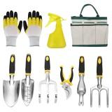5/9PCS Garden Tool Bag Toolbag Manual Gardening Planting Hand Fork Digging Tool