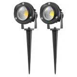 10W COB LED Lawn Light Outdoor Garden Landscape Wall Yard Path Flood Lamp AC85-265V