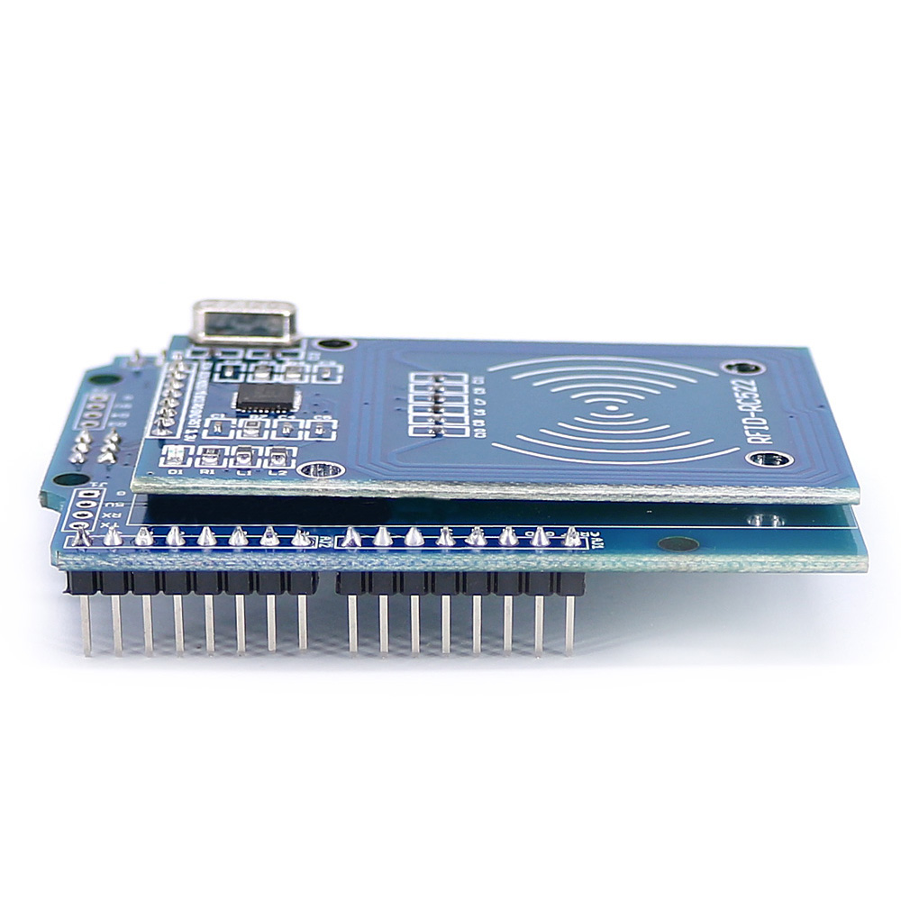 5pcs NFC Shield RFID RC522 Module RF IC Card Sensor + S50 RFID Smart Card for UNO/Mega2560 OPEN-SMART for Arduino