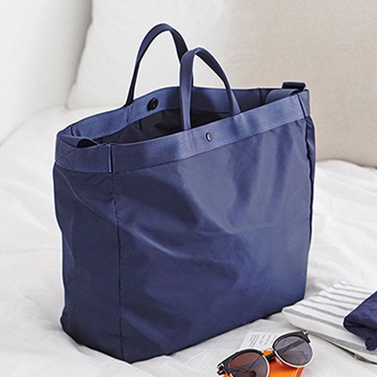 Waterproof Travel Bag Large Capacity Double Layer Storage Bag Portable Duffle Bags Packing Cube Weekend Bags