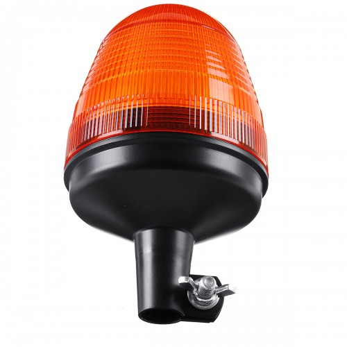12V-24V LED Rotating Flashing Amber Beacon Flexible Tractor Strobe Warning Light