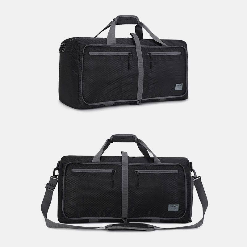 Men Women Large Capacity Light Weight Foldable Travel Bag Handbag Shoulder Bag