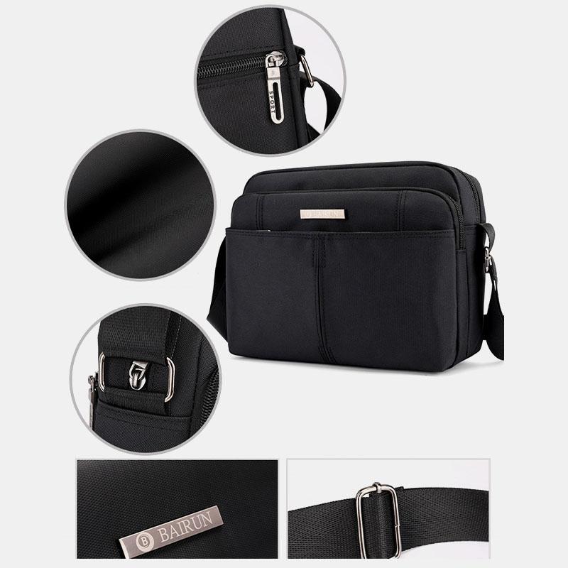 Large Capacity Light Weight Waterproof Shoulder Bag Crossbody Bag For Men