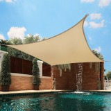 4x3m Waterproof Sun Shade Sail UV Proof Block Outdoor Canopy Patio Garden Yard Pool Cover