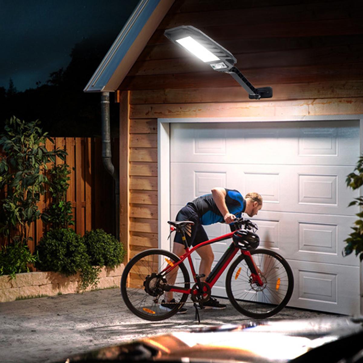 Solar Street Light Wall LED Motion Powered Outdoor Sensor PIR Garden