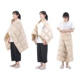Naturehike Outdoor Camping Portable Sleeping Bag Down Quilt Shawl Blanket Goose Down Travel Blanket 800FP Warm