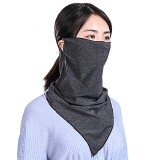 WHEELUP Multifunctional Cycling Face Mask Scarf Unisex Headscarf Ice Silk Breathable Neck Triangle Sport Scarf