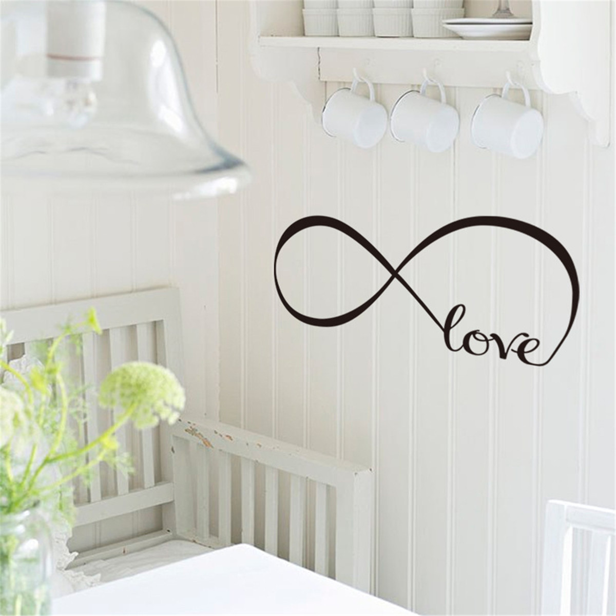 S/M/L Love PVC Wall Stickers DIY Removable Self Adhesive Art Decal Decoration