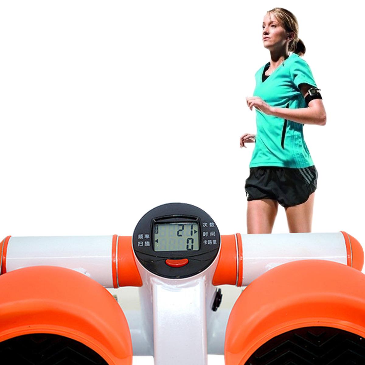 Fitness Mini Stepper Leg Trainer Cardio Sports Pedal Exerciser Fitness Sport Home Exercise Tools