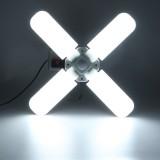2835 LED E27 E26 Garage Lights Shop Utility Ceiling Deformable Daylight LED Working Lamp 6500K For Garage Basement Workshop
