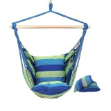 Max Load 100kg Indoor Outdoor Hammock Chair Hanging Chair Swing Chair Seat Garden Furniture