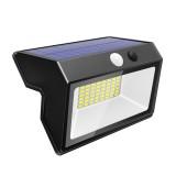 48 LED Solar Powered PIR Motion Sensor Light Outdoor Garden Security Flood Lamp