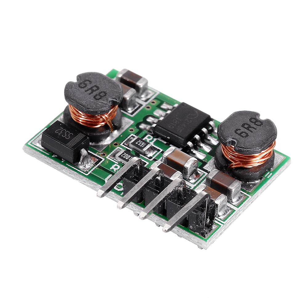3pcs DC DC 0.9-6V to 3.3V Auto Buck Boost Step UP Step Down Converter Board Power Supply Module