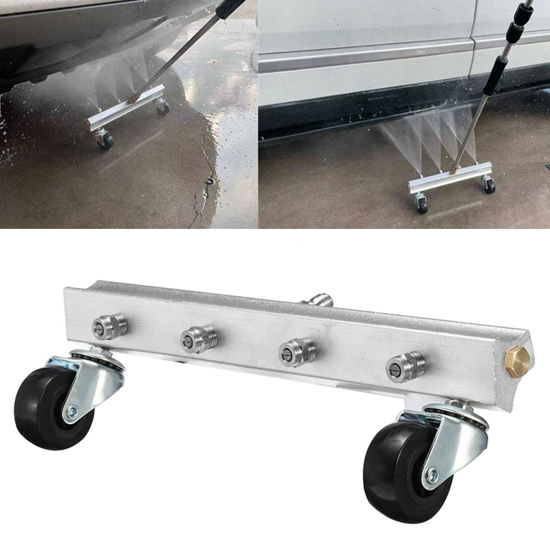 Car Body Chassis Car High Pressure Washing Machine Car Bottom Water Washing Machine 4 Nozzle Cleaner