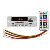 Car 12V Audio MP3 Player Decoder Board FM Radio SD Card USB, with Bluetooth / Remote Control