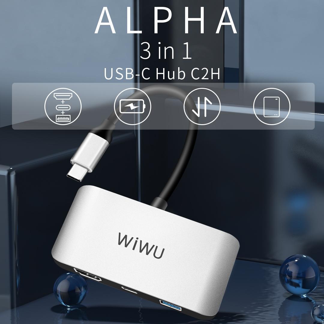 WIWU C2H  3合1 转接器 (https://www.wiwu.net.cn/) 电脑转接器 第7张