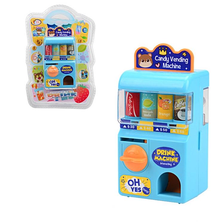 Children Puzzle Mini Shake Machine Game Toy Manual Shake Music Capsule Machine (Coin Drink Machine)