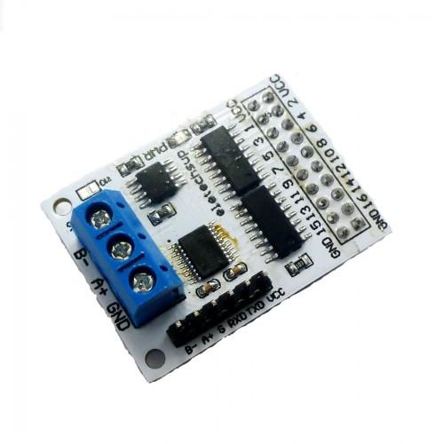 Multifunction RS485 Relay NPN PNP IO Control Core Board Modbus Rtu AT Command Module