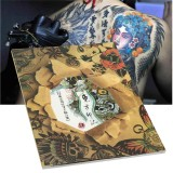 Traditional Chinese Traditional Elements Of 108 Pages Of Tattoo Design Flash Book