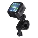 Waterproof LCD Display TPMS Motorcycle Real Time Tire Pressure Monitoring Gauge System Wireless Internal Sensor