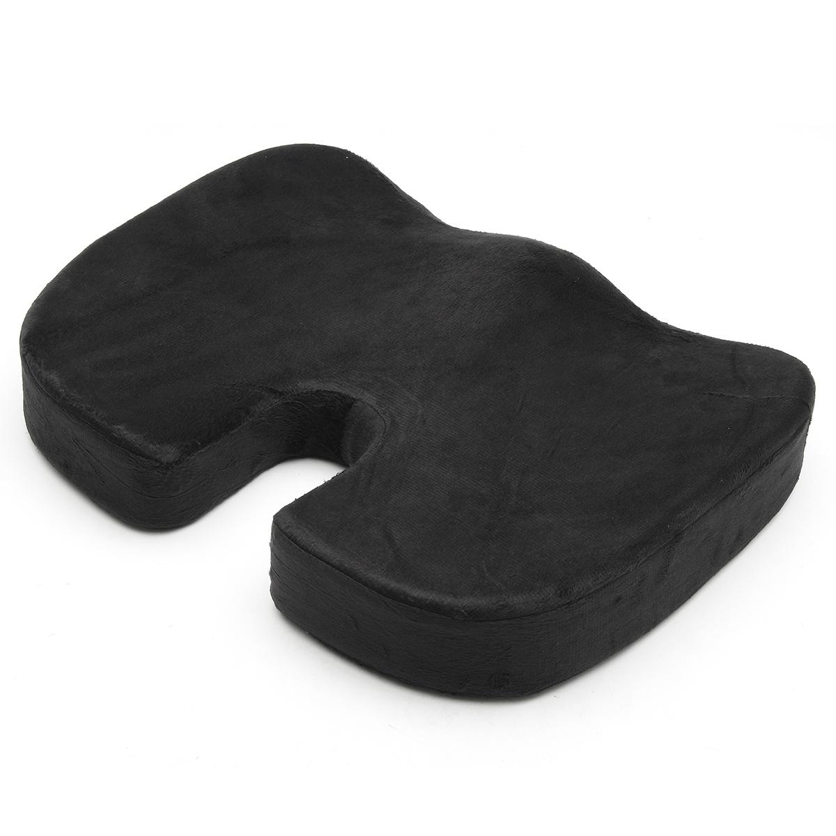 Office Chair Seat Cushion Car Seat Pillow Tailbone Memory Foam Soft Support