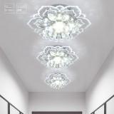 Modern Crystal LED Ceiling Light Fixture Pendant Lamp Lighting Chandelier 9W New