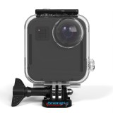 Sheingka 20M Touch Screen Waterproof Protective Shell Case Box for GoPro Max 360 Panoramic Camera