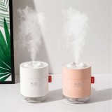 Remax 500ML Large Capacity Ultrasonic Air Humidifier with Romantic Lamp USB Car Mist Maker Aroma Oil Diffuser Aromatherapy Humidifiers